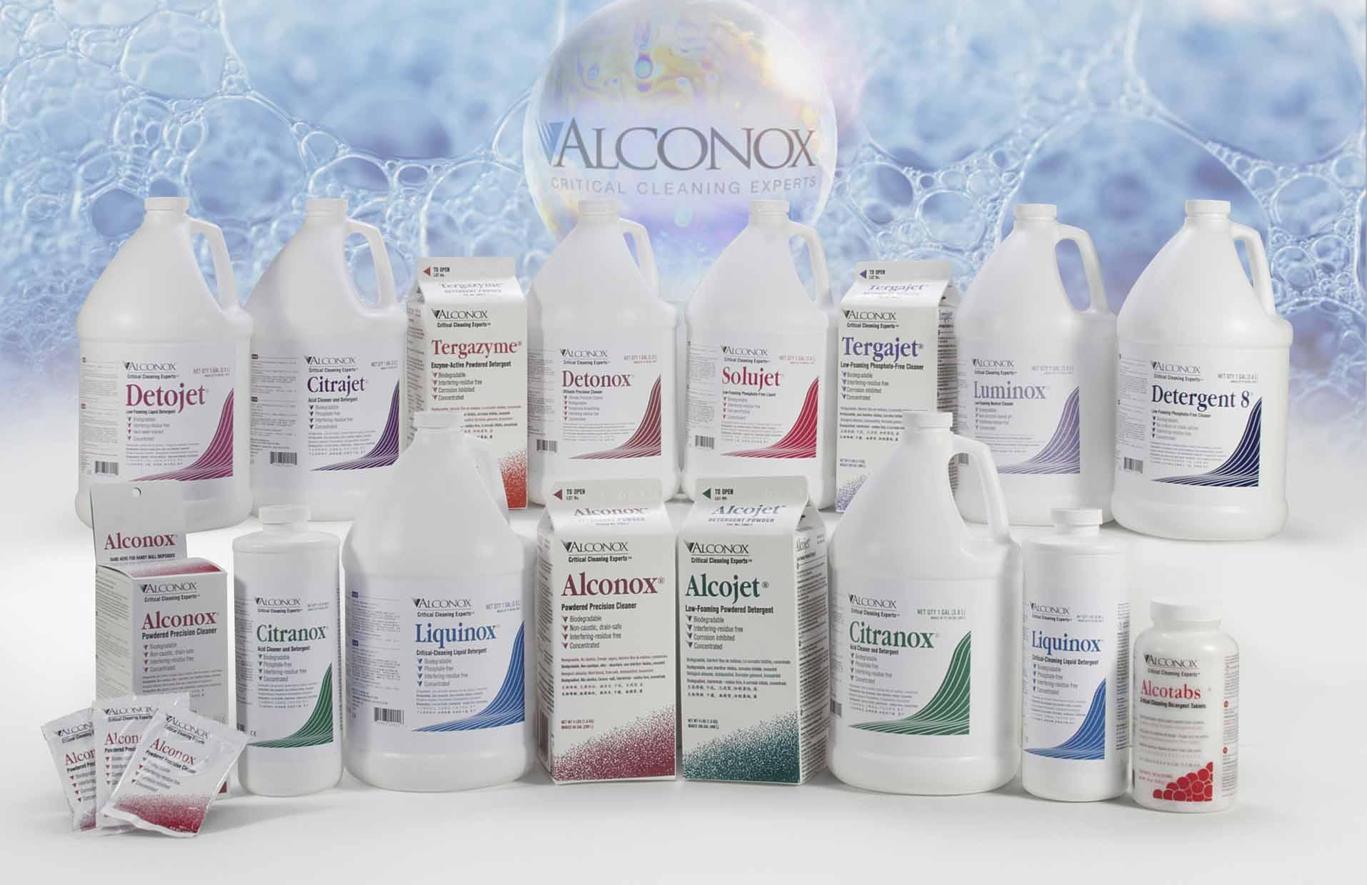 Alconox detergents